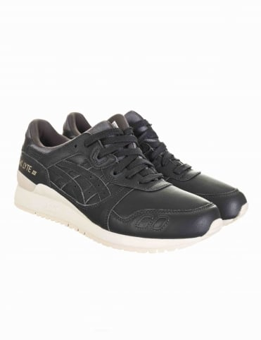 Asics Gel Lyte III Shoes - Dark Grey/Dark Grey