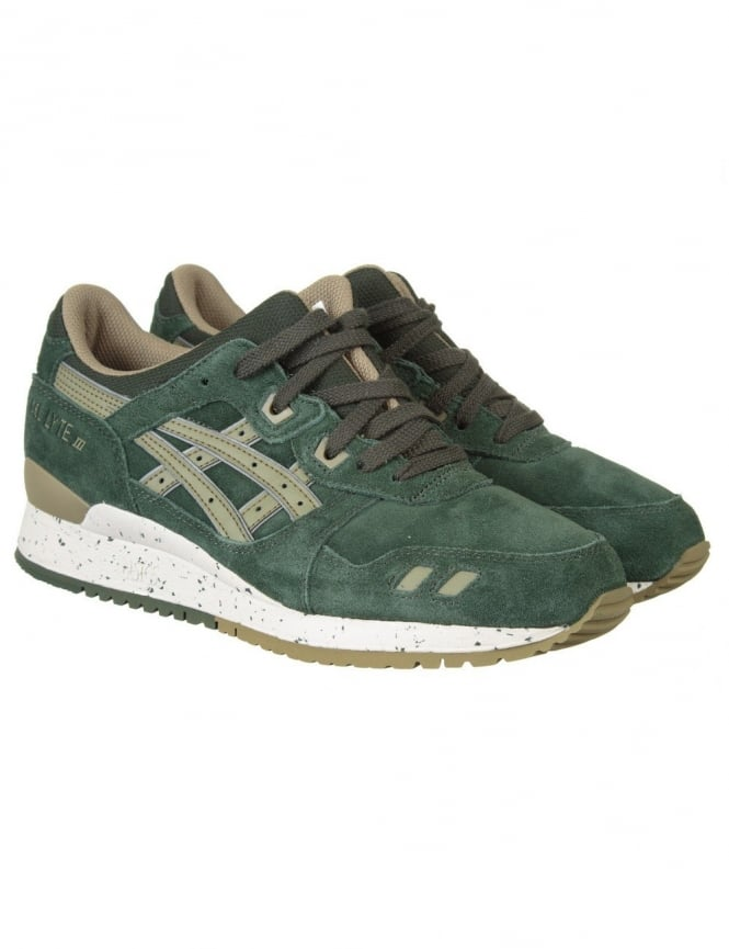Asics Gel Lyte III Shoes - Duffle Bag/Light Olive (Tonal Pack)