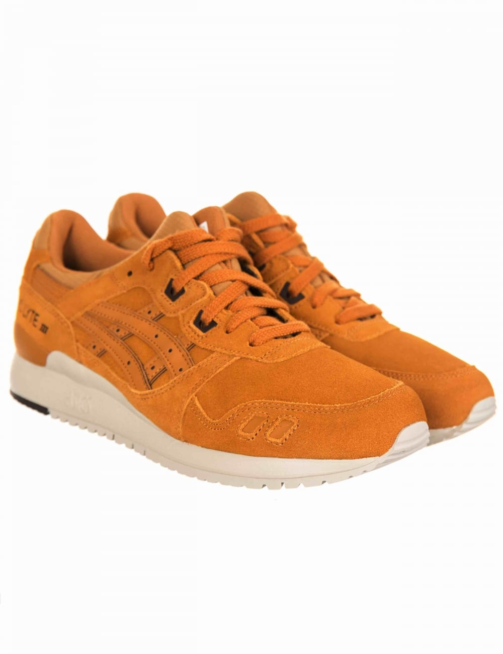 ba089f218fa3 Asics Gel Lyte III Trainers - Honey Ginger Honey - Footwear from Fat ...