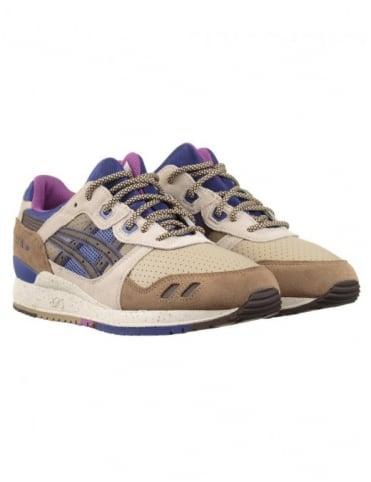 Asics Gel Lyte III Shoes - Lt Brown/Dk Brown
