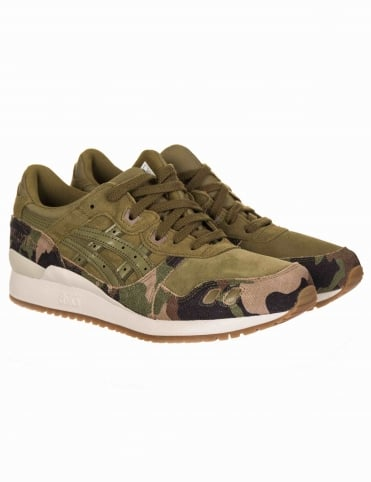 Gel Lyte III Shoes - Martini Olive/Martini Olive