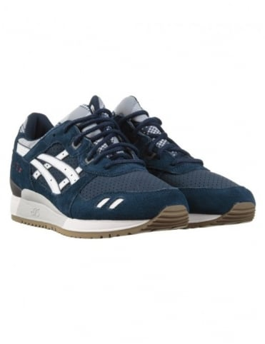 Asics Gel Lyte III Shoes - Navy (Patchwork Pack)