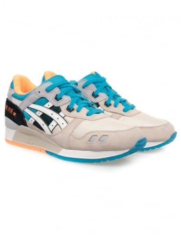 Asics Gel Lyte III Shoes - Off White/White