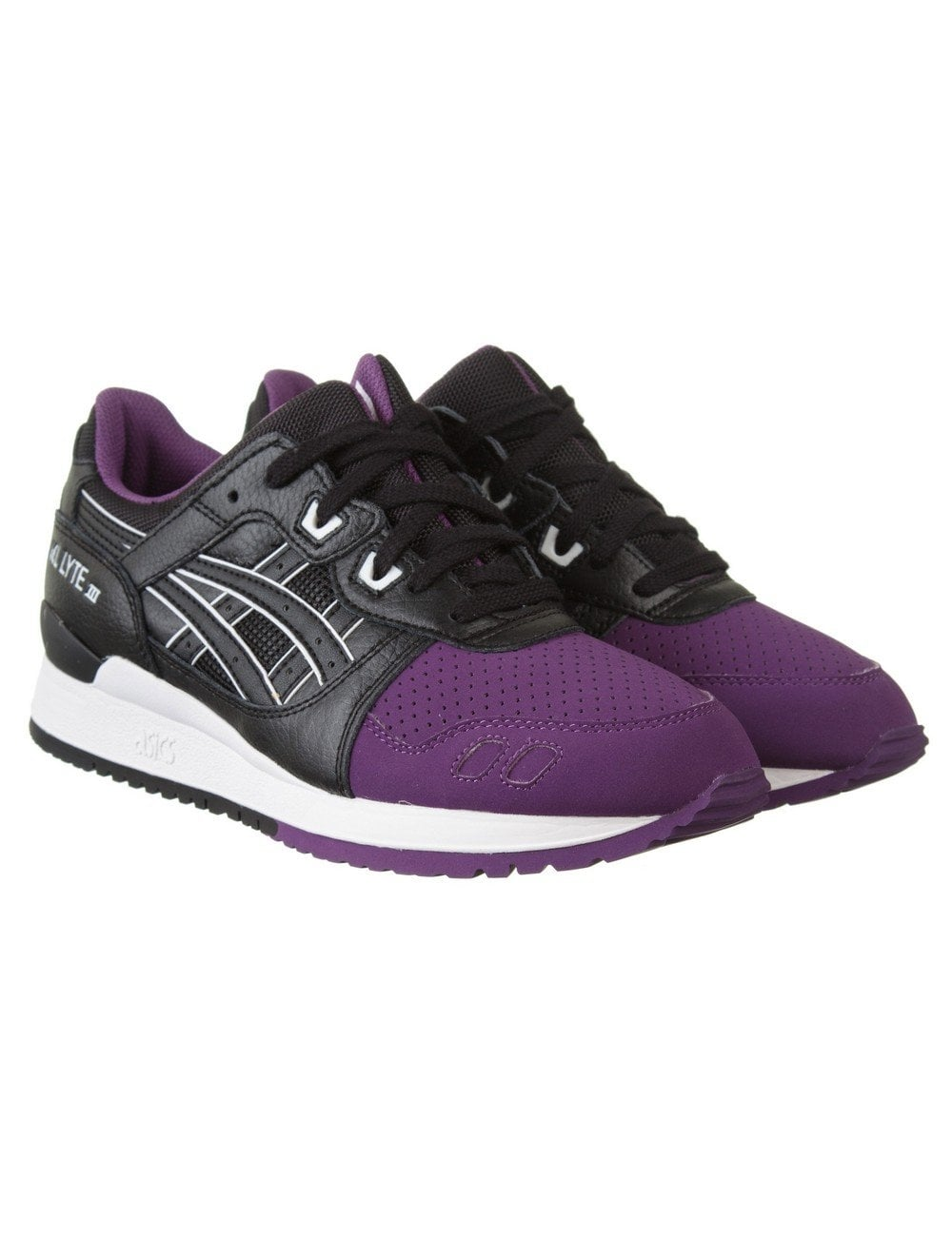 on sale 0effc f2672 Gel Lyte III Trainers - Purple/Black (50/50 Pack)