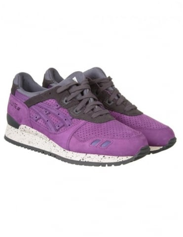 Asics Gel Lyte III Shoes - Purple/Purple