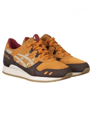 Asics Gel Lyte III Shoes - Tan/Sand (Workwear Pack)