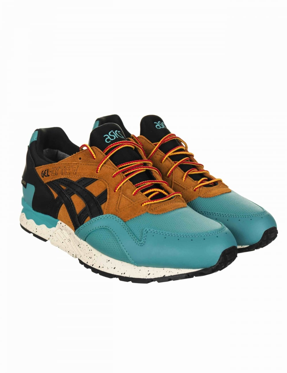 5592b757c71b1 Asics Gel Lyte V Gore-Tex Shoes - Kingfisher Black - Footwear from ...