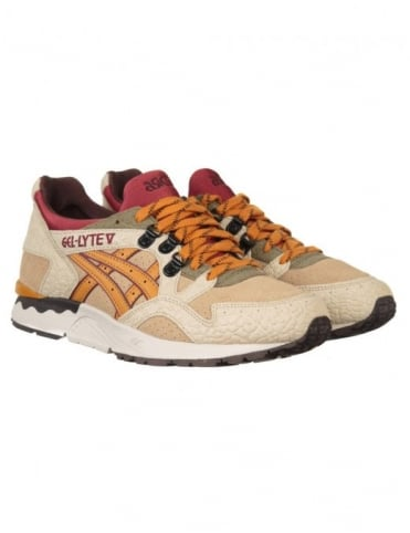 Asics Gel Lyte V Shoes - Sand/Tan (Workwear Pack)