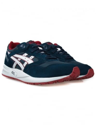 Asics Gel Saga Shoes - Blue/Red