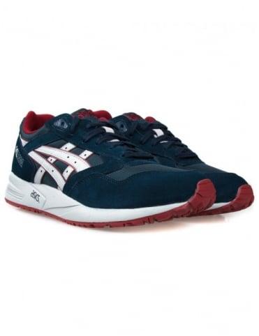 Asics Gel Saga Shoes - Blue/Red