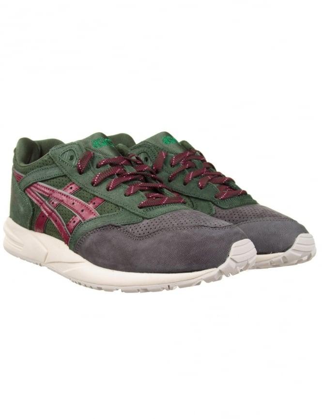 Asics Gel Saga Shoes - Dark Green (Xmas Pack)