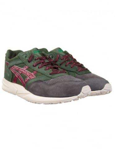 Asics Gel Saga Shoes - Dark Green (Xmas Pack)