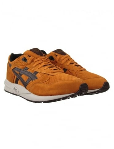 Asics Gel Saga Shoes - Tan/Dk Brown