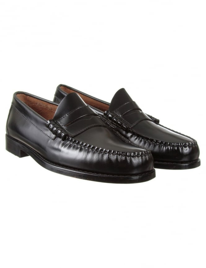 Bass Weejuns Larson Penny Loafer - Black