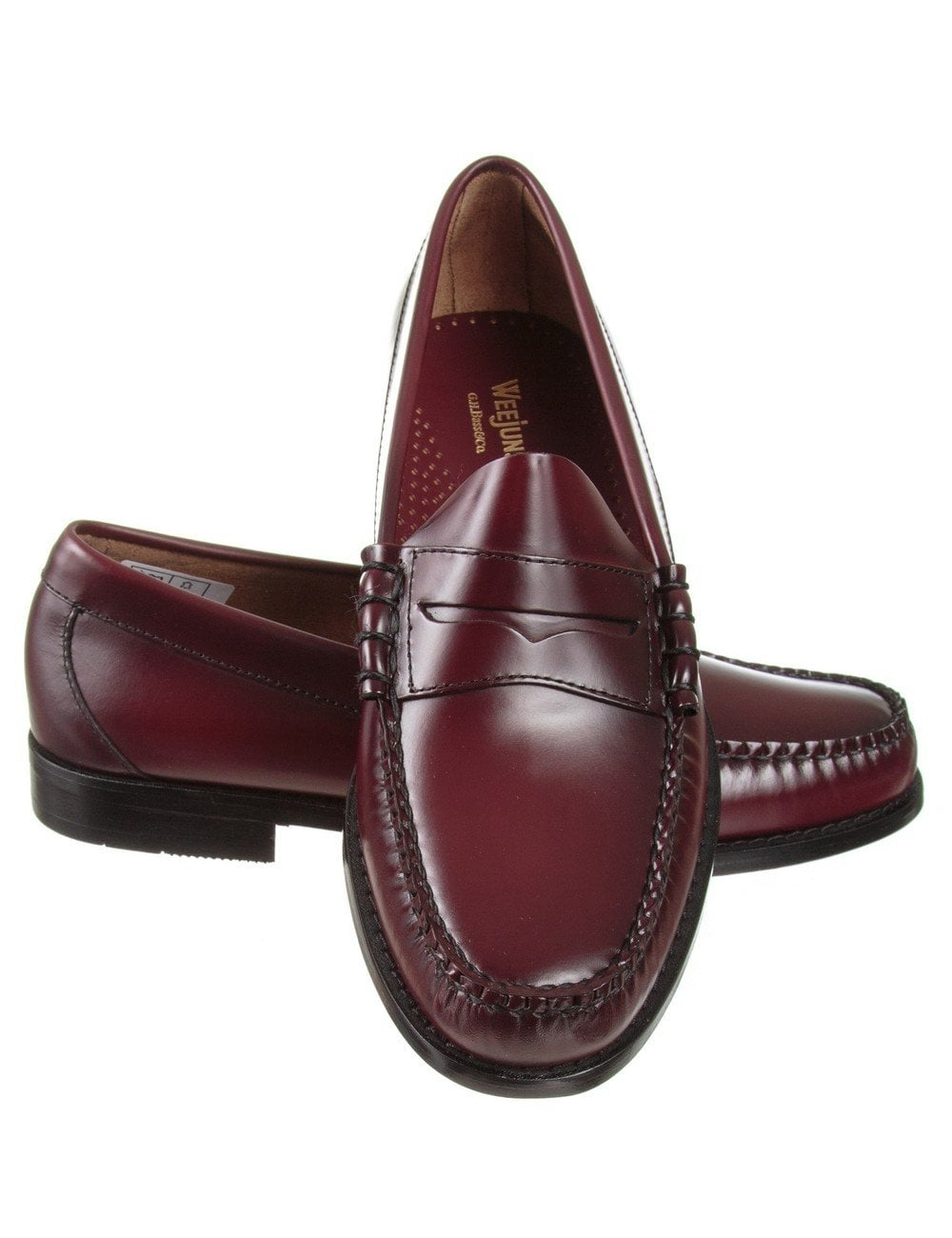 508ae0a147f Bass Weejuns Larson Penny Loafer - Wine - Shoes   Boots from Fat ...