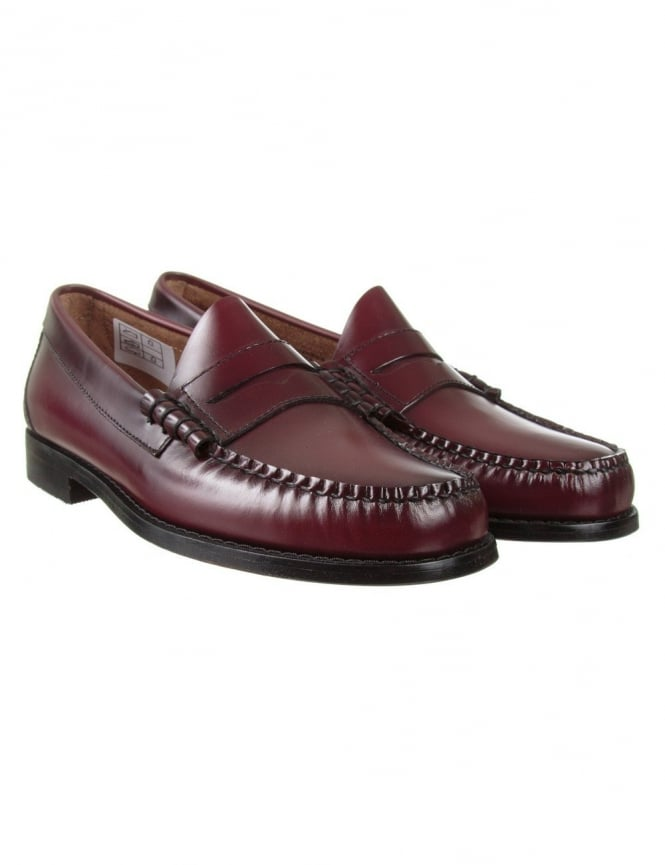 Bass Weejuns Larson Penny Loafer - Wine