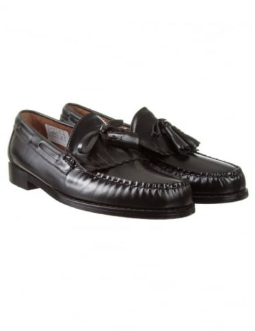 Bass Weejuns Layton Kiltie Loafer - Black