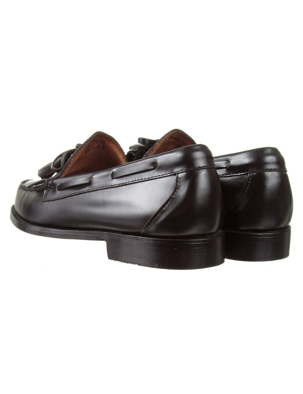 865fbc8f0cd Bass Weejuns Layton Kiltie Loafer - Black - Shoes   Boots from Fat ...