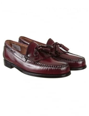 Layton Kiltie Loafer - Wine