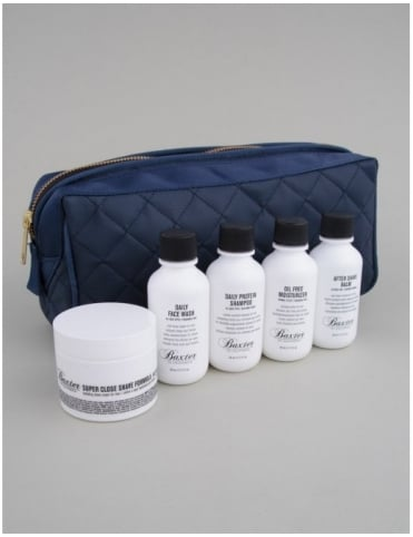 Travel Kit + Dopp Bag - Boxed Set