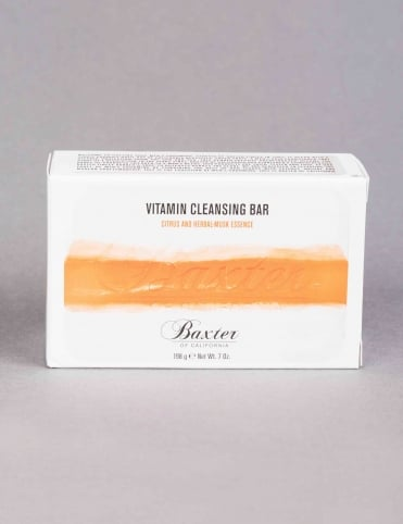 Vitamin Cleansing Bar - Citrus and Herbal Musk