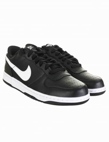 Big Nike Lo Shoes - Black/White