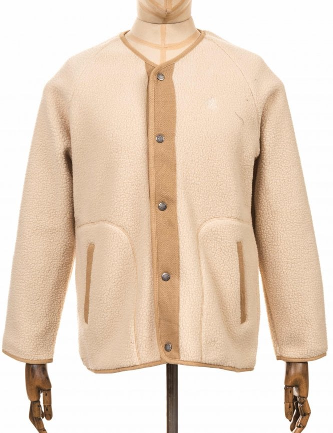 Boa Fleece Jacket - Ivory