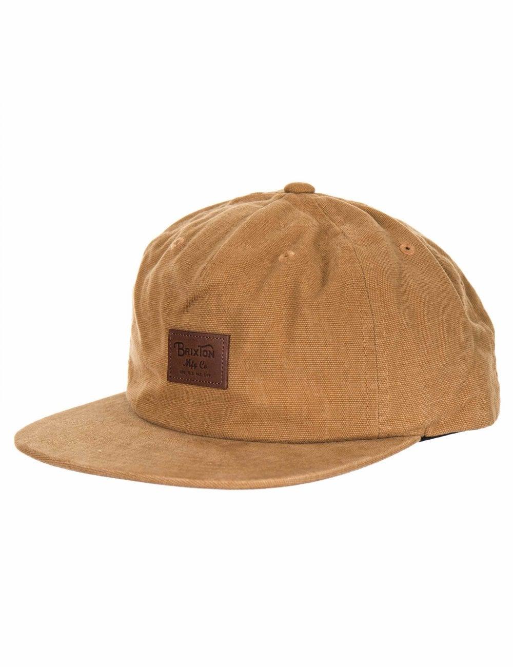 ec3eeed4ea2 Brixton Grade II UC Trucker Hat - Dark Copper - Accessories from Fat ...