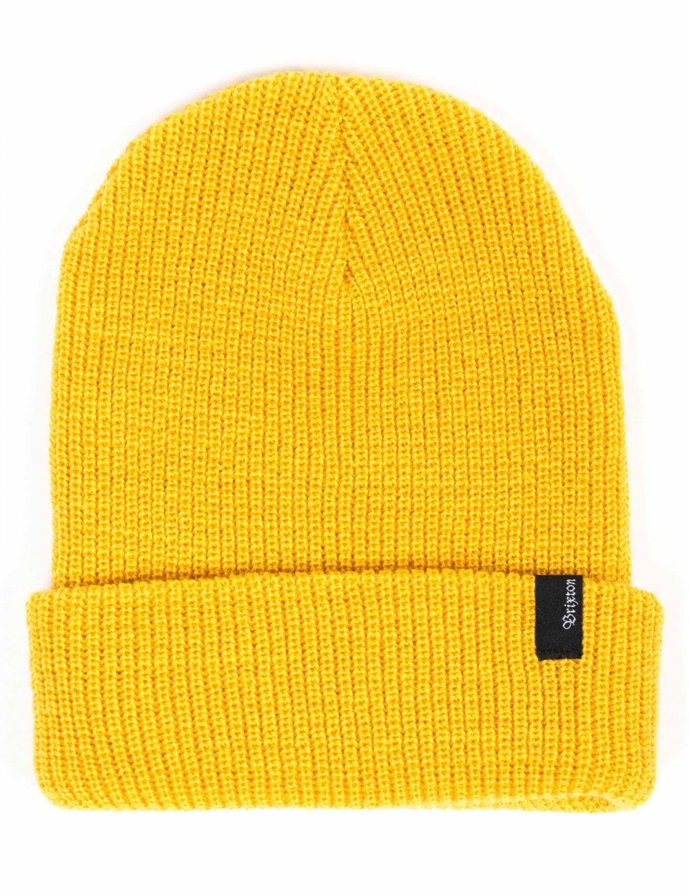 7727f9372 Heist Beanie Hat - Mustard