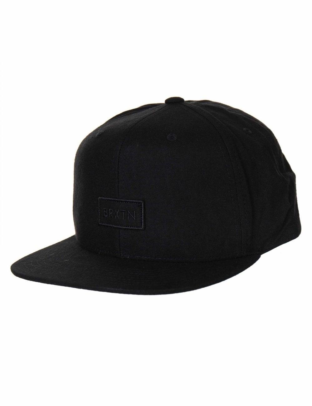 b86b03d50d Rift II Snapback Cap - Black