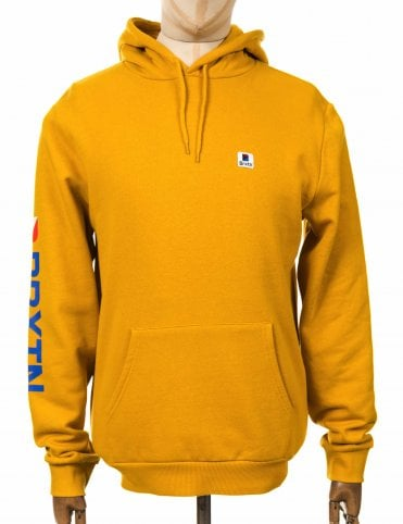 143b7a13796 Brixton Stowell Int Hooded Sweatshirt - Nugget Gold