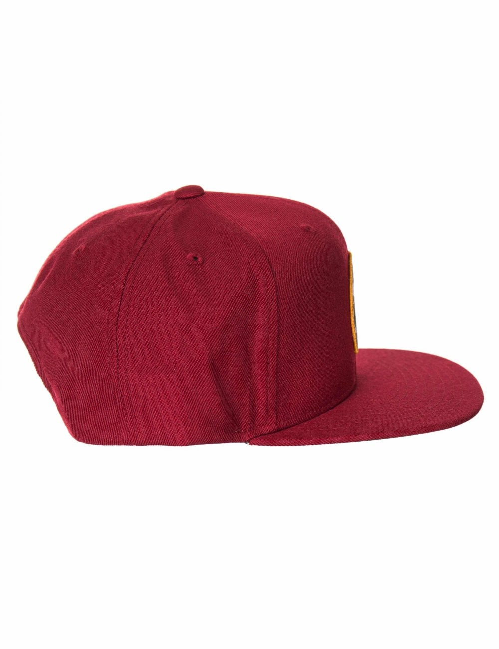 26042863867e5 Brixton Wheeler Snapback Cap - Burgundy - Hat Shop from Fat Buddha ...