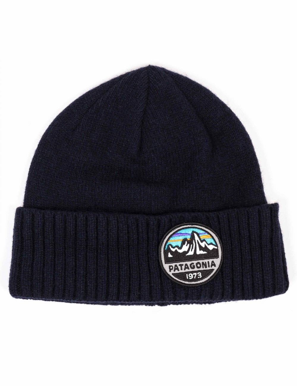 Patagonia Brodeo Beanie Hat - Fitz Roy Scope  Navy Blue ... d37492b1002