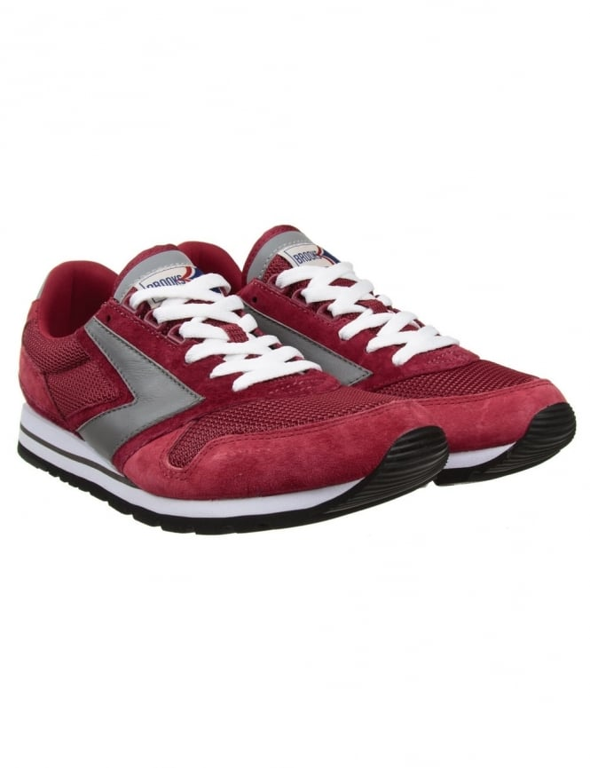 Brooks Heritage Chariot Shoes - Burgundy