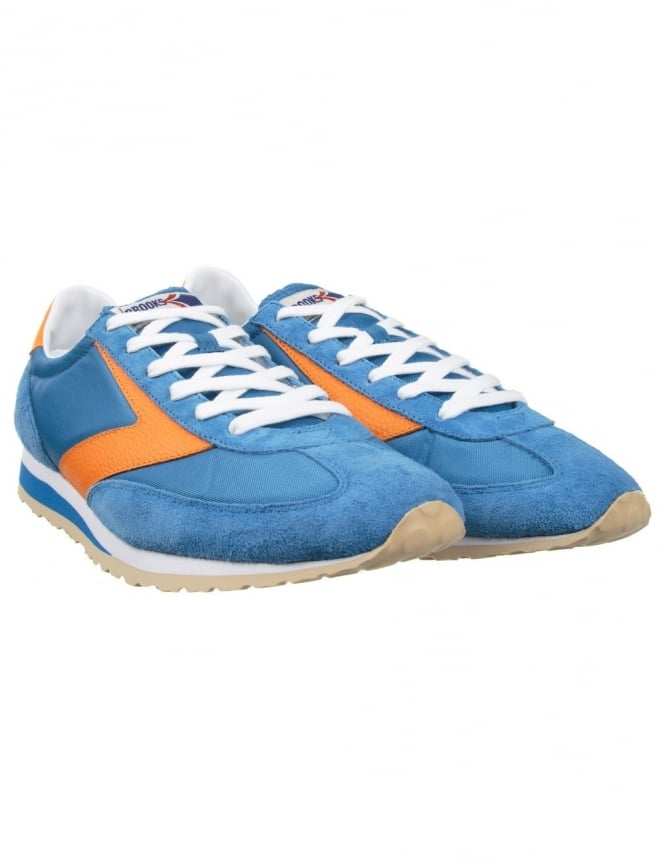 Brooks Heritage Vanguard Shoes - Royal Blue