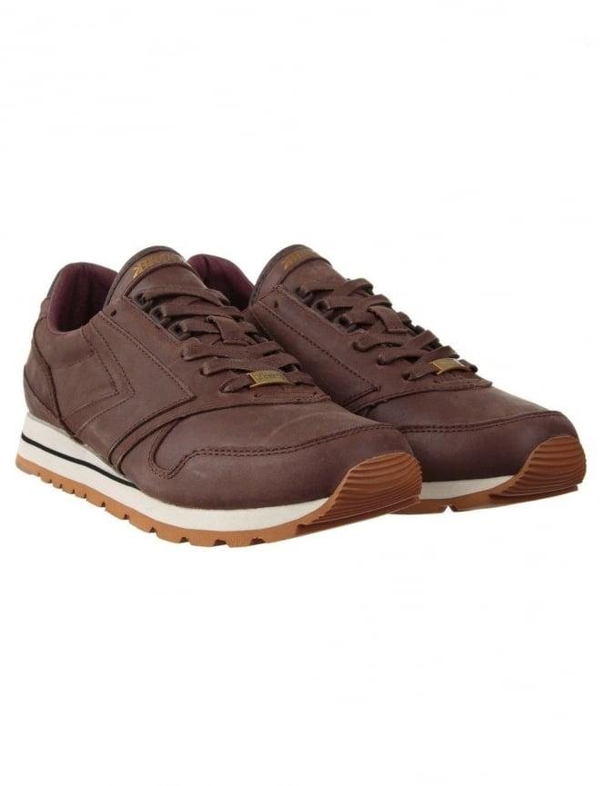 Brooks Heritage X UBIQ Liberty Chariot Shoes - Copper Brown