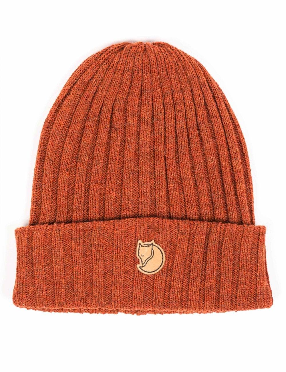 c6edbe5902a72f Fjallraven Byron Beanie Hat - Autumn Leaf - Accessories from Fat ...