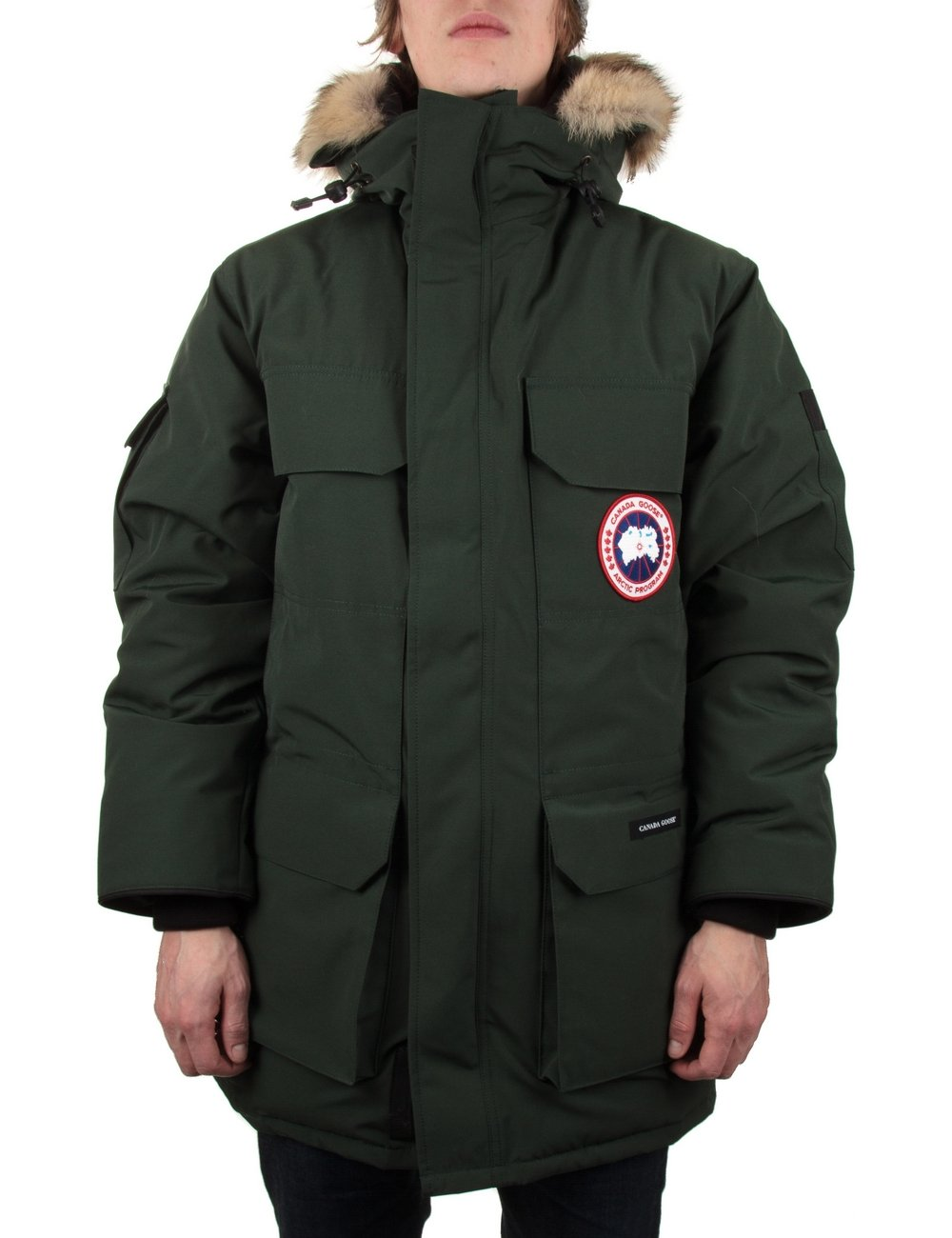 canada goose expedition forest green
