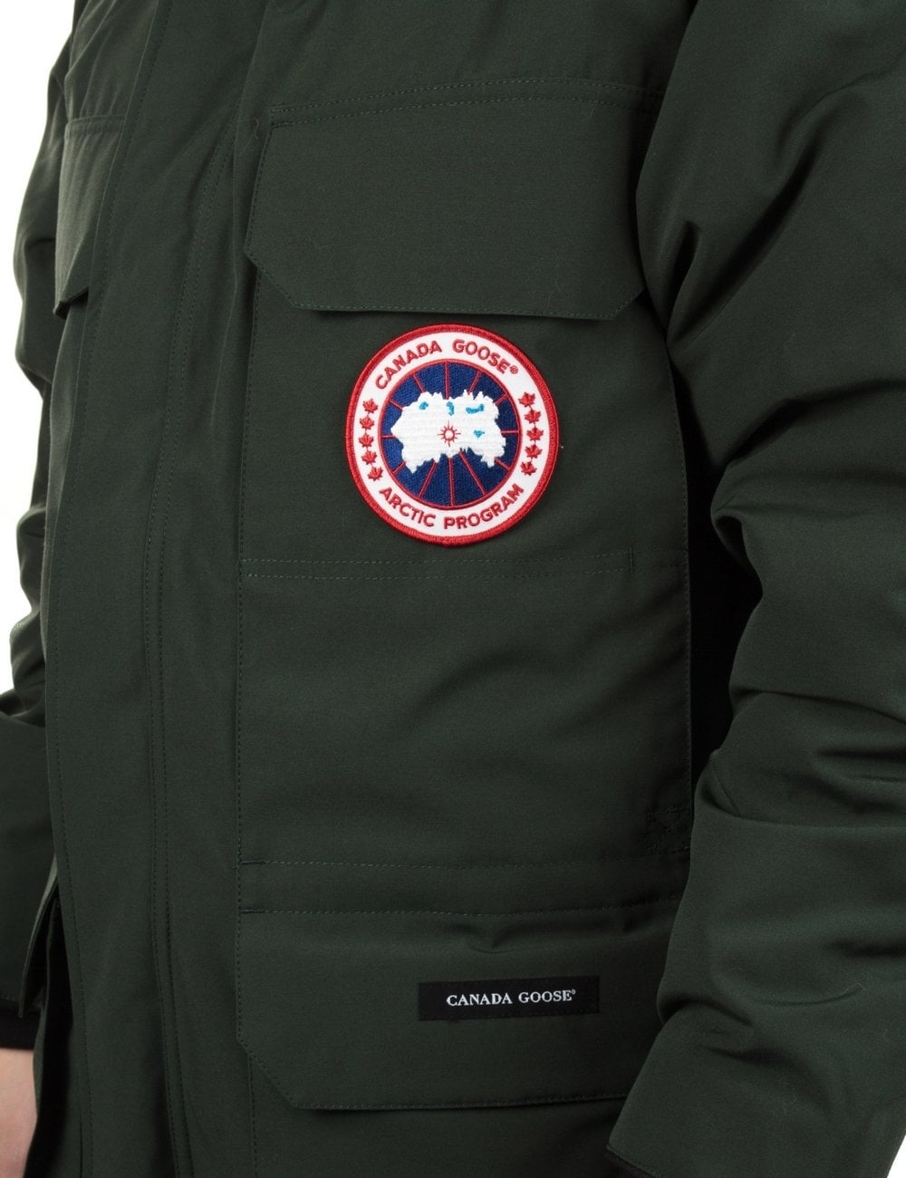 canada goose expedition parka forest green