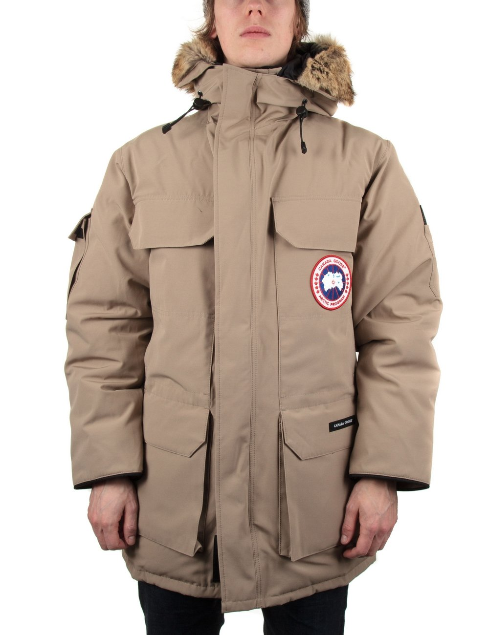 Canada Goose womens sale discounts - Canada Goose Expedition Parka - Tan - Canada Goose from Fat Buddha ...