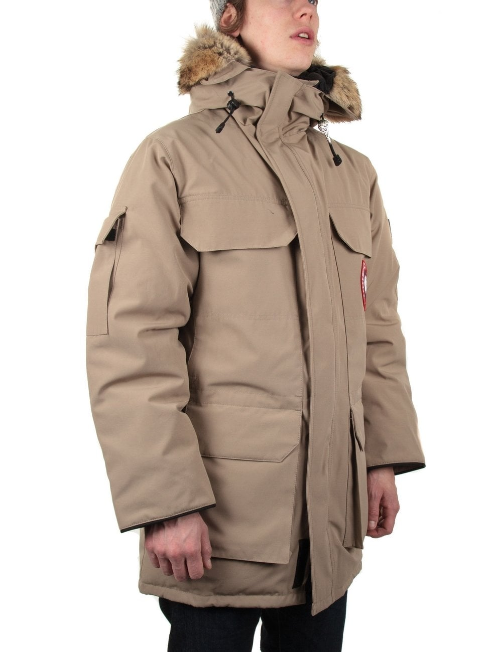 canada goose expedition parka tan canada goose from. Black Bedroom Furniture Sets. Home Design Ideas