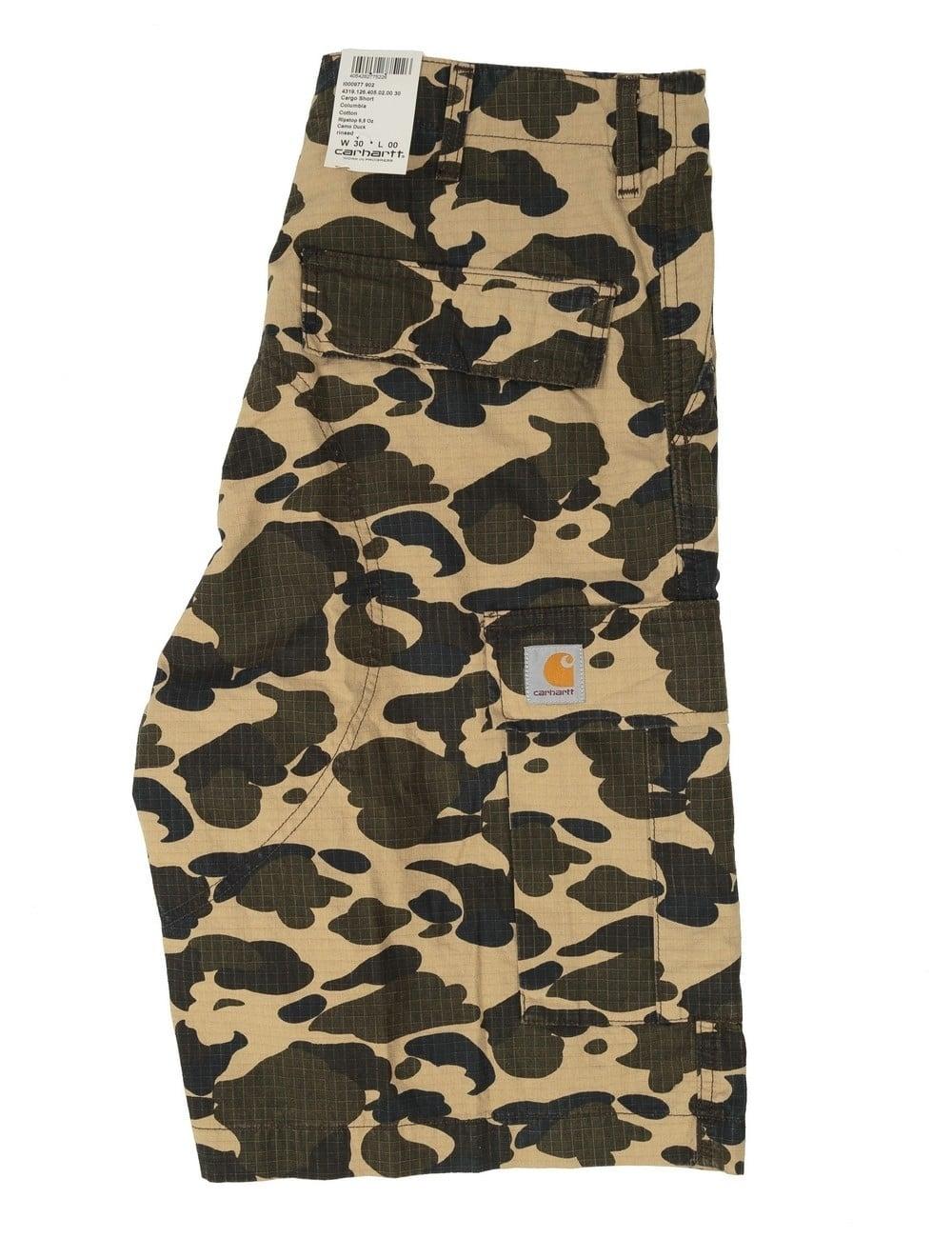 8d407c25de Carhartt WIP Cargo Shorts - Camo Duck - Clothing from Fat Buddha ...