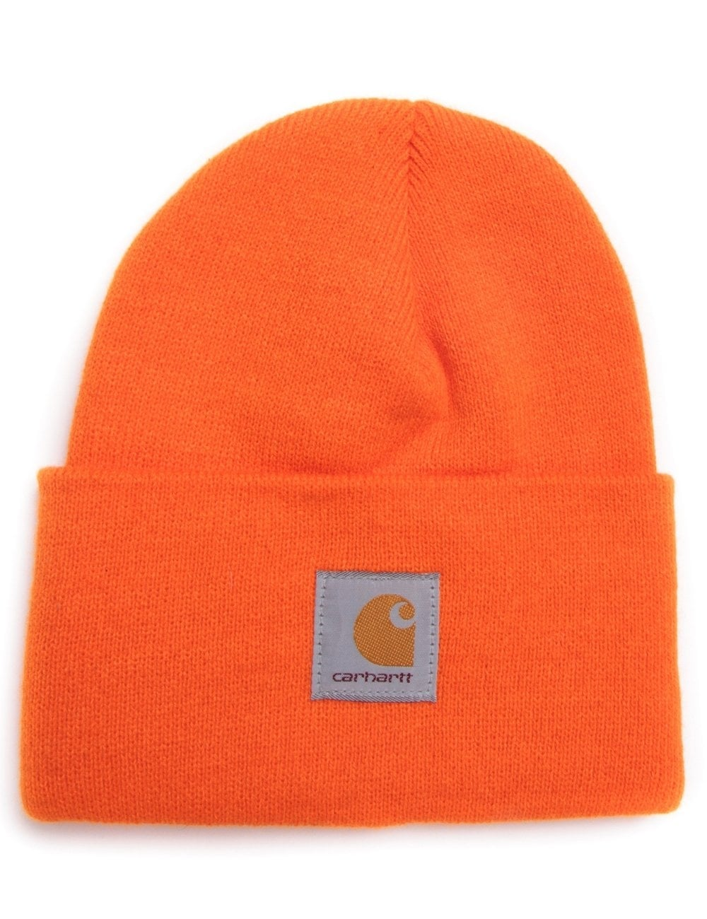Carhartt WIP Acrylic Watch Hat - US Athletic Orange - Accessories ... 514383dcabdf