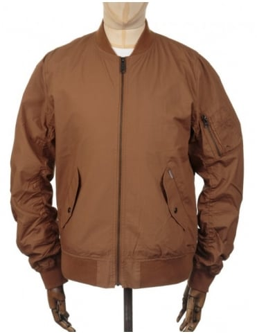 Carhartt Adams Jacket - Hamilton Brown