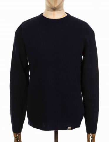 Allen Knit Sweater - Navy