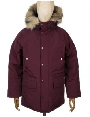 Carhartt Anchorage Parka - Damson Red