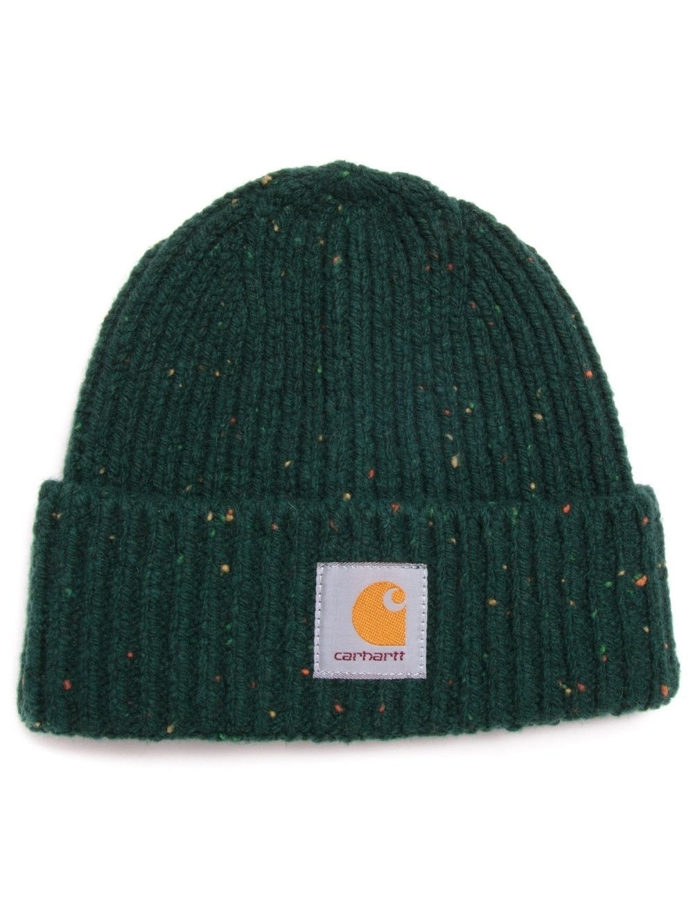 Carhartt WIP Anglistic Beanie - Bottle Green - Accessories from Fat ... 686ec0499d0