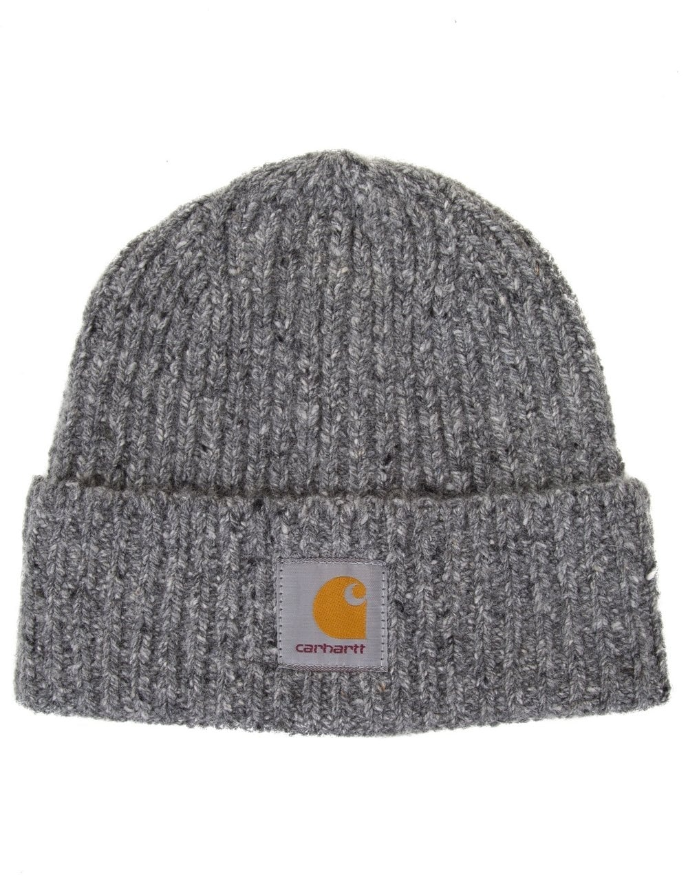 5eb49ee2d9bc1 Carhartt WIP Anglistic Beanie - Dark Grey Heather - Accessories from ...
