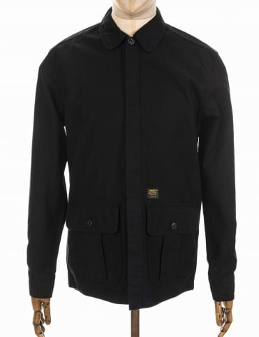Anson Shirt/Jacket - Black