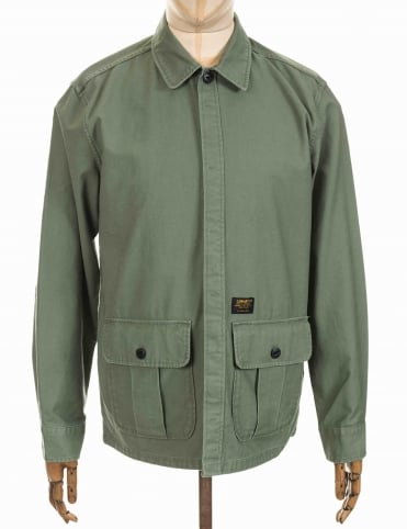 Anson Shirt/Jacket - Dollar Green